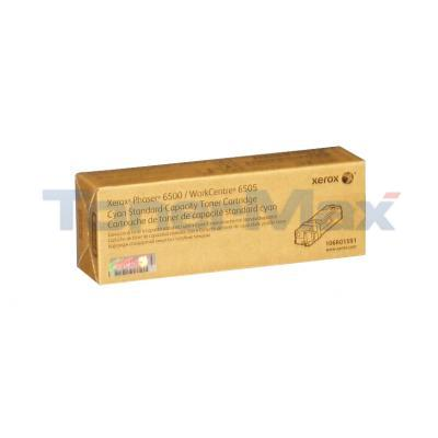 XEROX PHASER 6500 TONER CARTRIDGE CYAN